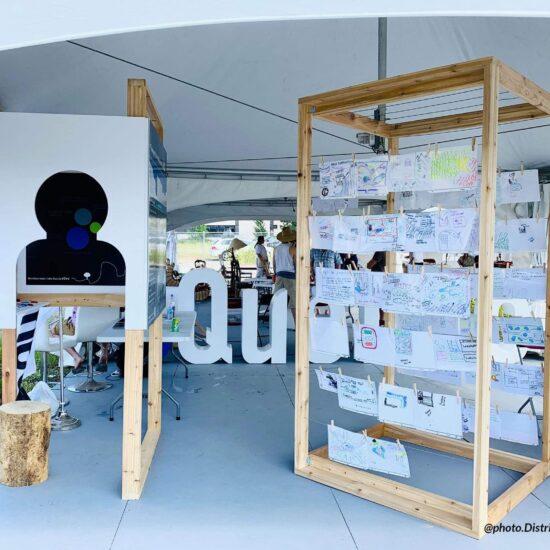 Zarate Lavigne - Kiosque de presentation pour district central